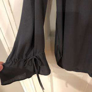LOFT Tops - Small loft tie sleeve blouse size small